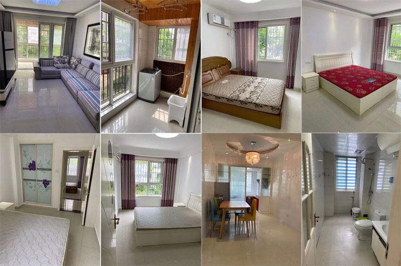 欧洲城2楼3室精装修家具家电齐全4台空调,拎包即住
