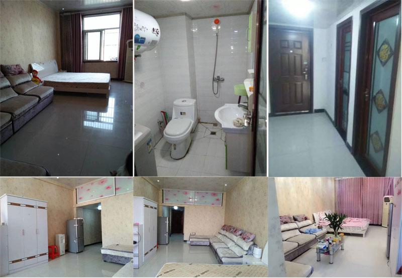浙江商贸城单身公寓一室一厅,简单装修,家具家电齐全