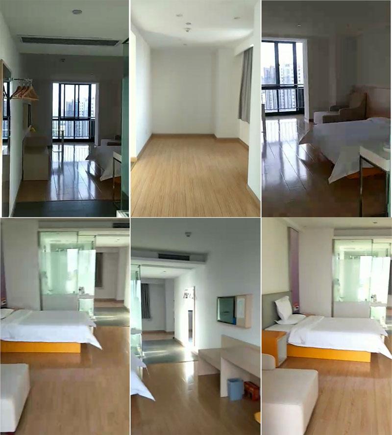 瑞凯国际14楼单身公寓80平,精装一室一厅,产证齐全