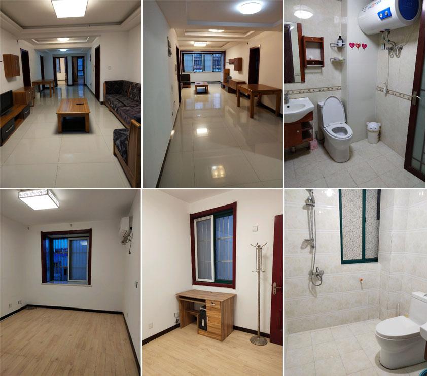 彩虹公寓电梯6楼,总高11楼,130平3室2厅2卫,中等装修。