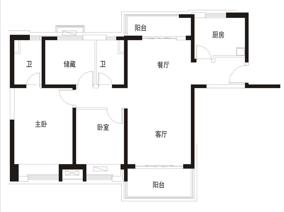 碧桂园天悦府4楼131平精装修3室2厅2卫