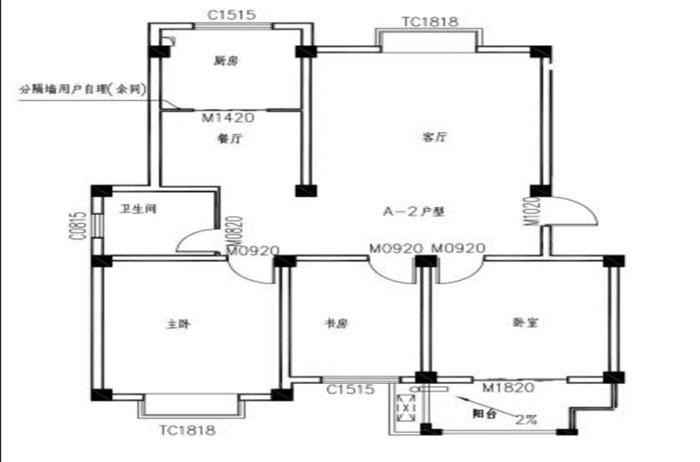 李岳小区二期多层四楼,118平三室两厅,带12平车库,产证齐全可贷款。