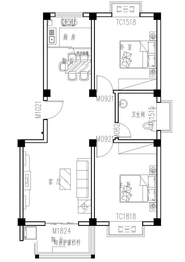 李岳小区二期多层5楼120平三室两厅,简单装修,产证齐全。