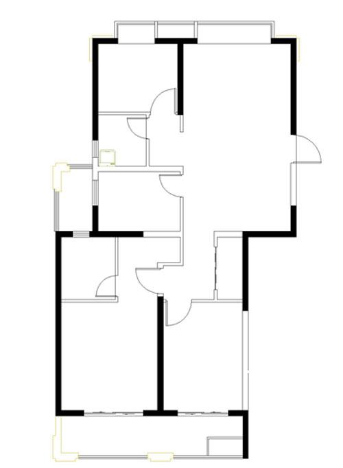 金泰名城电梯5楼120平3室2厅2卫,毛坯现房,新城学区