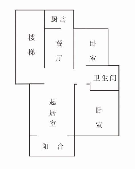西盛园一期5楼,总高5楼,93平两室两厅,精装修,带小车库。