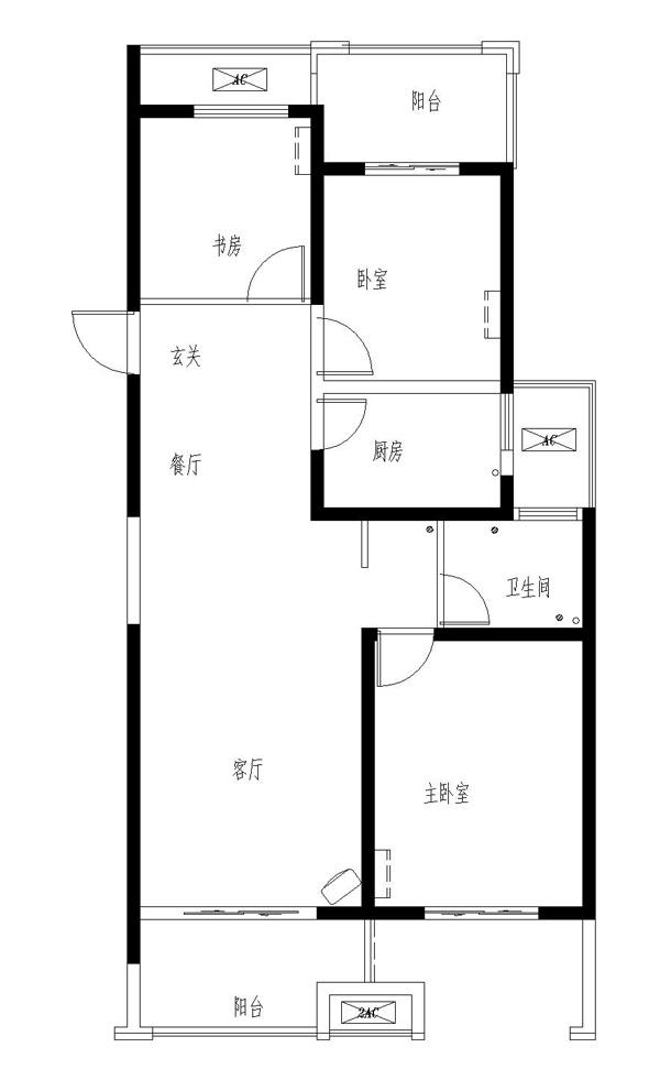 金泰尚城电梯14楼,109平三室两厅,毛坯现房,满五唯一,可贷款,新城区学区房。